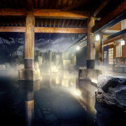 Winter Magic of Hot Springs