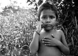 Venezuelan Refugee Boy