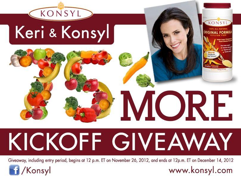 Keri & Konsyl '75% More' Kickoff Giveaway