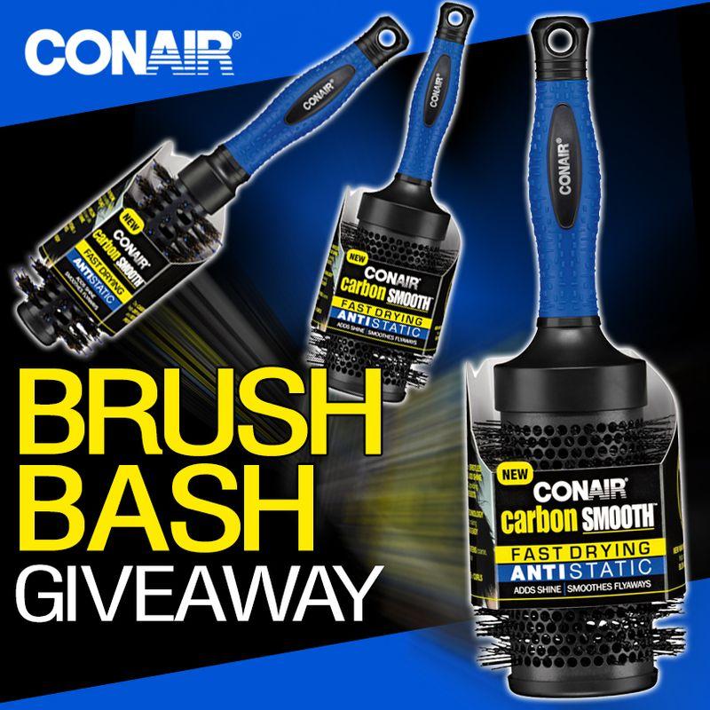 CONAIR'S BRUSH BASH GIVEAWAY