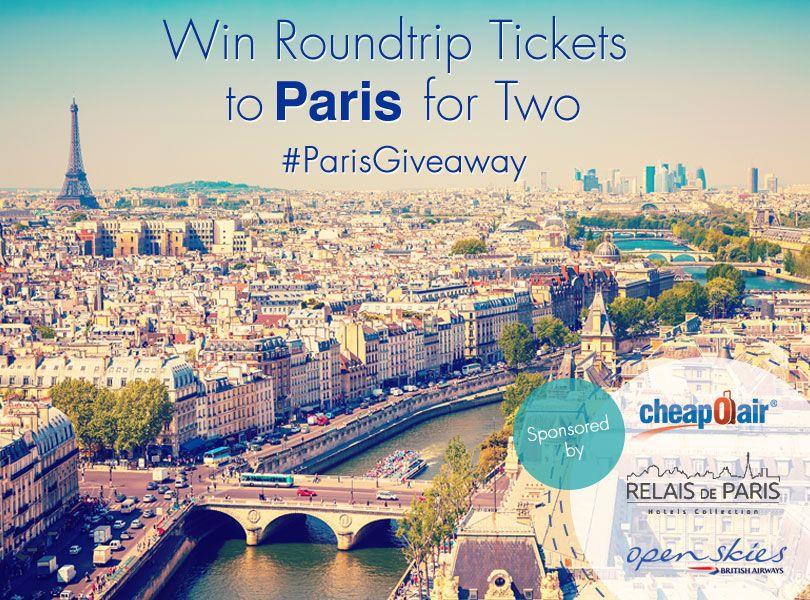 Win a Trip to Paris!