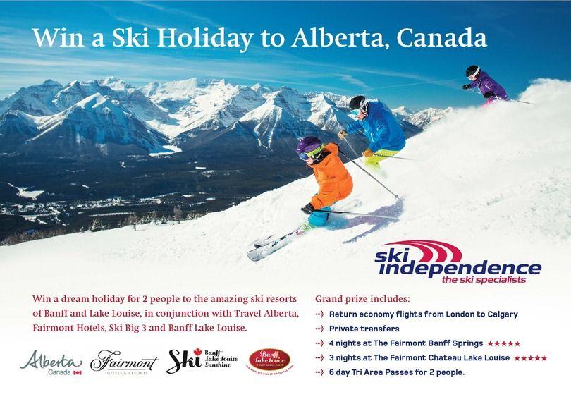 Win a Dream Ski Holiday to Alberta, Canada