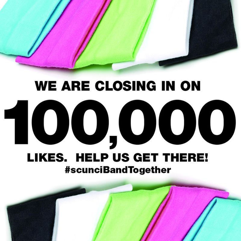"""scünci® """"100K Band of Fans """"Giveaway"""