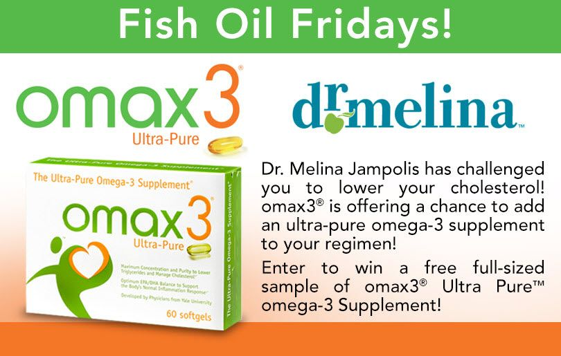 """omax3® Ultra-Pure™ """"Fish Oil Fridays"""" Giveaway"""