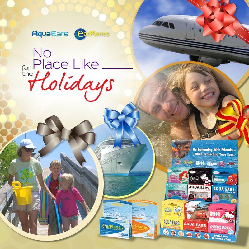 AquaEars & EarPlanes Healthy Holiday Travel Sweepstakes