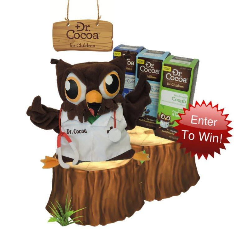 "Dr. Cocoa™ We're ""Owl"" Smiles for Relief Giveaway"